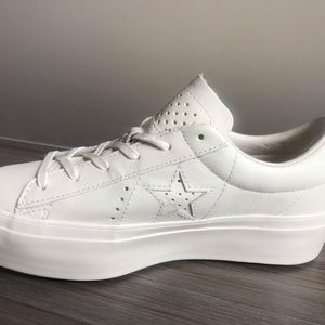 Converse One Star Platform OX SHOES SIZE 7.5 Women NWT